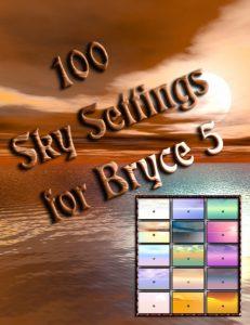 Bryce Download - Karanta's 100 Sky Settings for Bryce 5