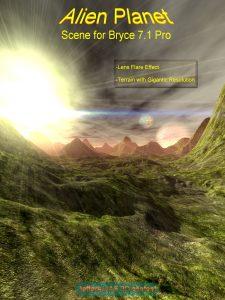 Bryce Download - Alien Planet