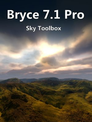 Bryce 7.1 Pro Sky Toolbox