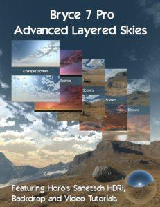 Bryce Download - Bryce 7 Pro Advanced Layered Skies