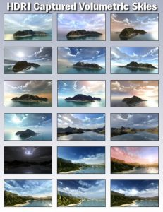Bryce Download - Bryce 7 Pro HDRI Captured Volumetric Skies 1