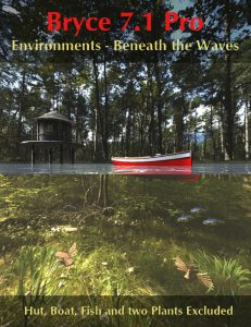 Bryce Download - Bryce 7.1 Pro - Environments - Beneath the Waves