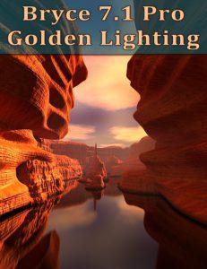 Bryce Download - Bryce 7.1 Pro - Golden Lighting