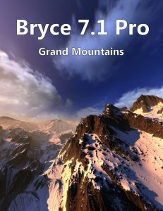 Bryce Download - Bryce 7.1 Pro - Grand Mountains