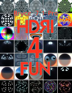 Bryce Download - Bryce 7.1 Pro - HDRI for Fun