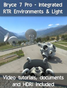 Bryce Download - Bryce 7.1 Pro Integrated RTR Environments and Lighting