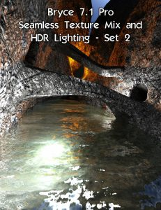 Bryce Download - Bryce 7.1 Pro - Seamless Texture Mix and HDR Lighting - Set 2