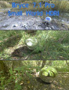 Bryce Download - Bryce 7.1 Pro - Small World HDRI