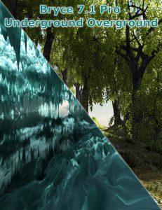 Bryce Download - Bryce 7.1 Pro - Underground Overground