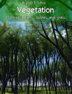 Bryce Download - Bryce 7.1 Pro - Vegetation