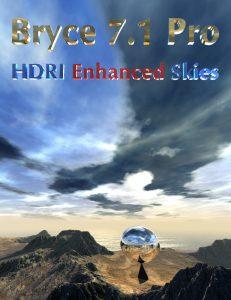 Bryce Download - Bryce 7.1 Pro - HDRI Enhanced Skies