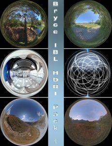 Bryce Download - HDRI Pack1