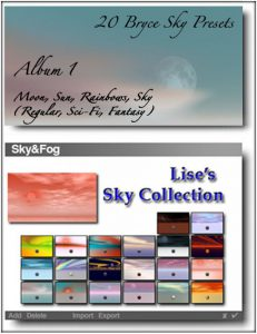 Bryce Download - Lise's Sky Collection Album 1