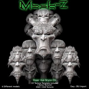 Bryce Download - Mask-Z