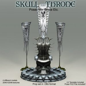 Bryce Download - Skull Throne